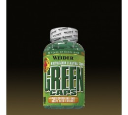 Weider - Green Caps / 180 caps Хранителни добавки, Витамини, минерали и др., Мултивитамини