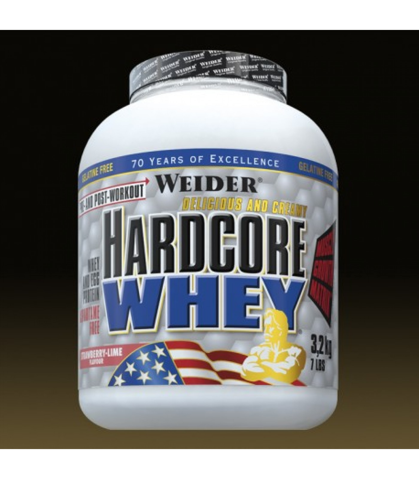 Weider - Hardcore Whey / 3178 gr