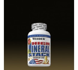 Weider - High Mineral Stack / 120 caps Хранителни добавки, Витамини, минерали и др., Мултивитамини