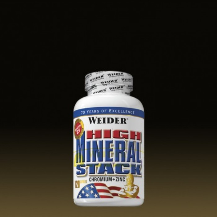 Weider - High Mineral Stack / 120 caps