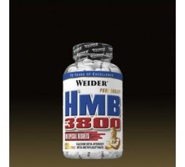 Weider - HMB-3800 / 120 caps Хранителни добавки, Аминокиселини, Разклонена верига (BCAA)