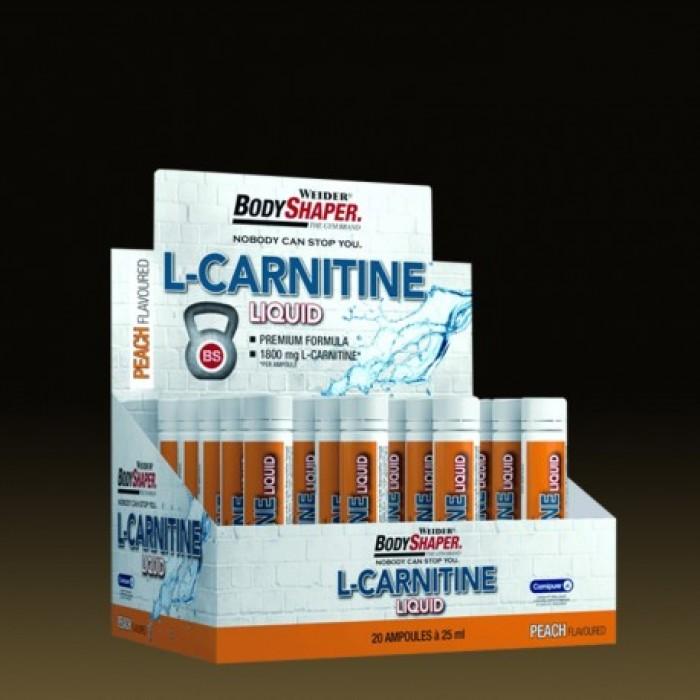 Weider - L-Carnitine Liquid / 20amp.