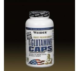 Weider - L-Glutamine / 160 caps Хранителни добавки, Аминокиселини, Глутамин
