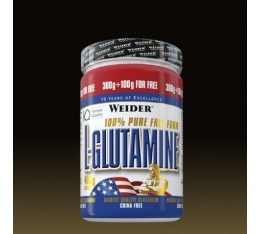 Weider - L-Glutamine Powder / 400 gr Хранителни добавки, Аминокиселини, Глутамин