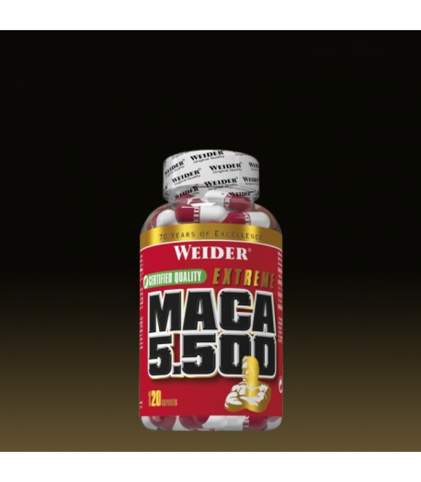 Weider - Maca 5.500 / 120 caps