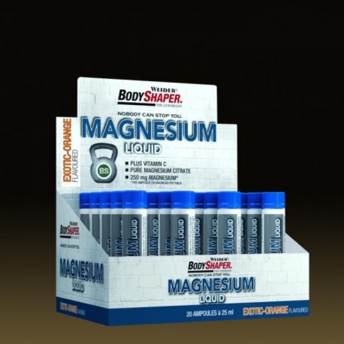 Weider - Magnesium Liquid / 20 amp
