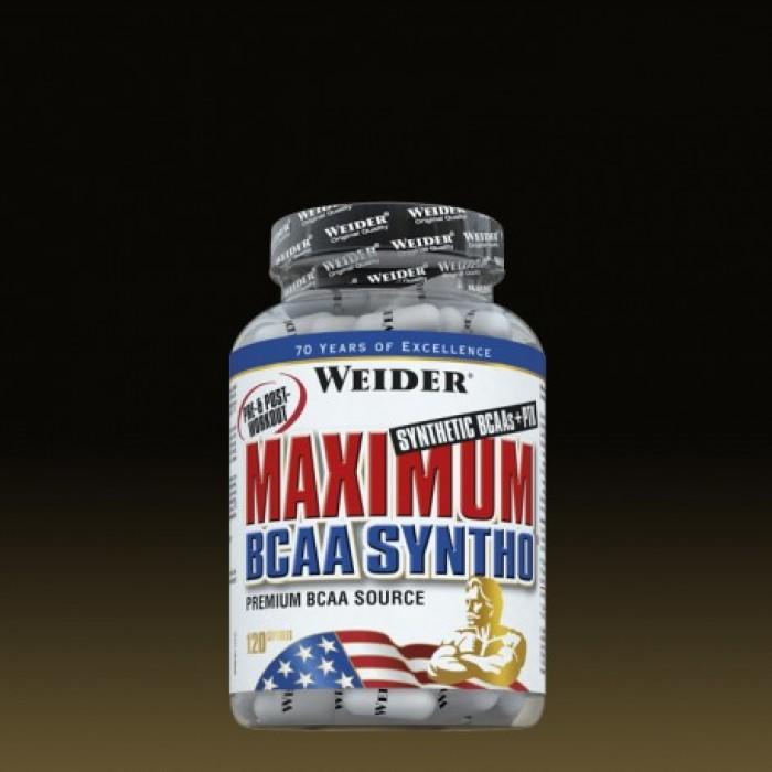 Weider - Maximum ВСАА Syntho + PTK / 120 Caps.