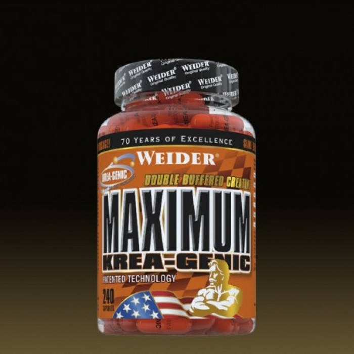 Weider - Maximum Krea-Genic / 240 caps
