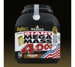 Weider - Mega Mass 4000 / 3000 gr Хранителни добавки, Гейнъри за покачване на тегло, Въглехидрати
