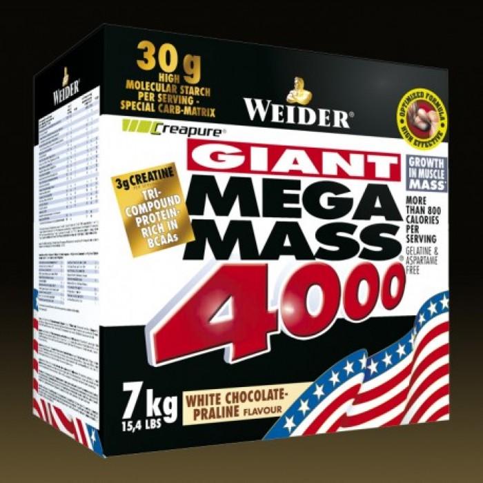 Weider - Mega Mass 4000 / 7000 gr