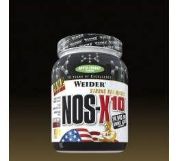 Weider - NOS-X10 / 908 gr Хранителни добавки, Азотни/напомпващи