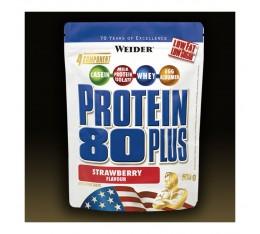 Weider - Protein 80+ / 500 gr Хранителни добавки, Протеини, Протеинови матрици