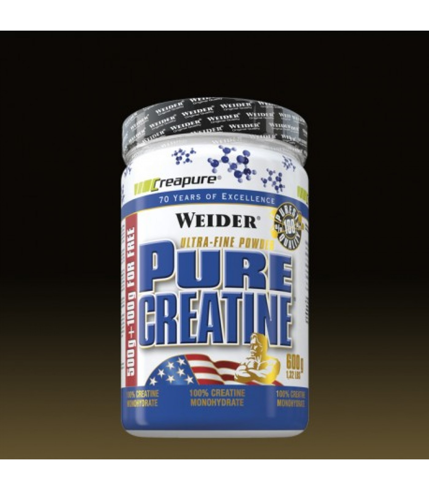Weider - Pure Creatine / 600 gr