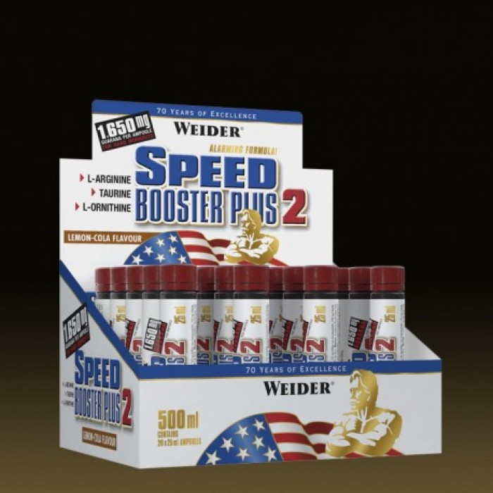Weider - Speed Booster Plus 2 / 20 amp. x 25 ml.