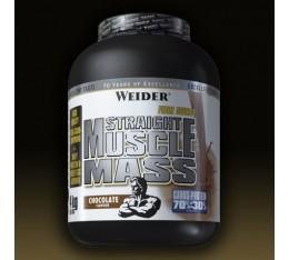 Weider - Straight Muscle Mass / 4kg. Хранителни добавки, Гейнъри за покачване на тегло, Въглехидрати