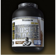 Weider - Straight Muscle Mass / 4kg.