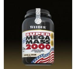 Weider - Super Mega Mass 2000 / 1500 gr Хранителни добавки, Гейнъри за покачване на тегло, Въглехидрати