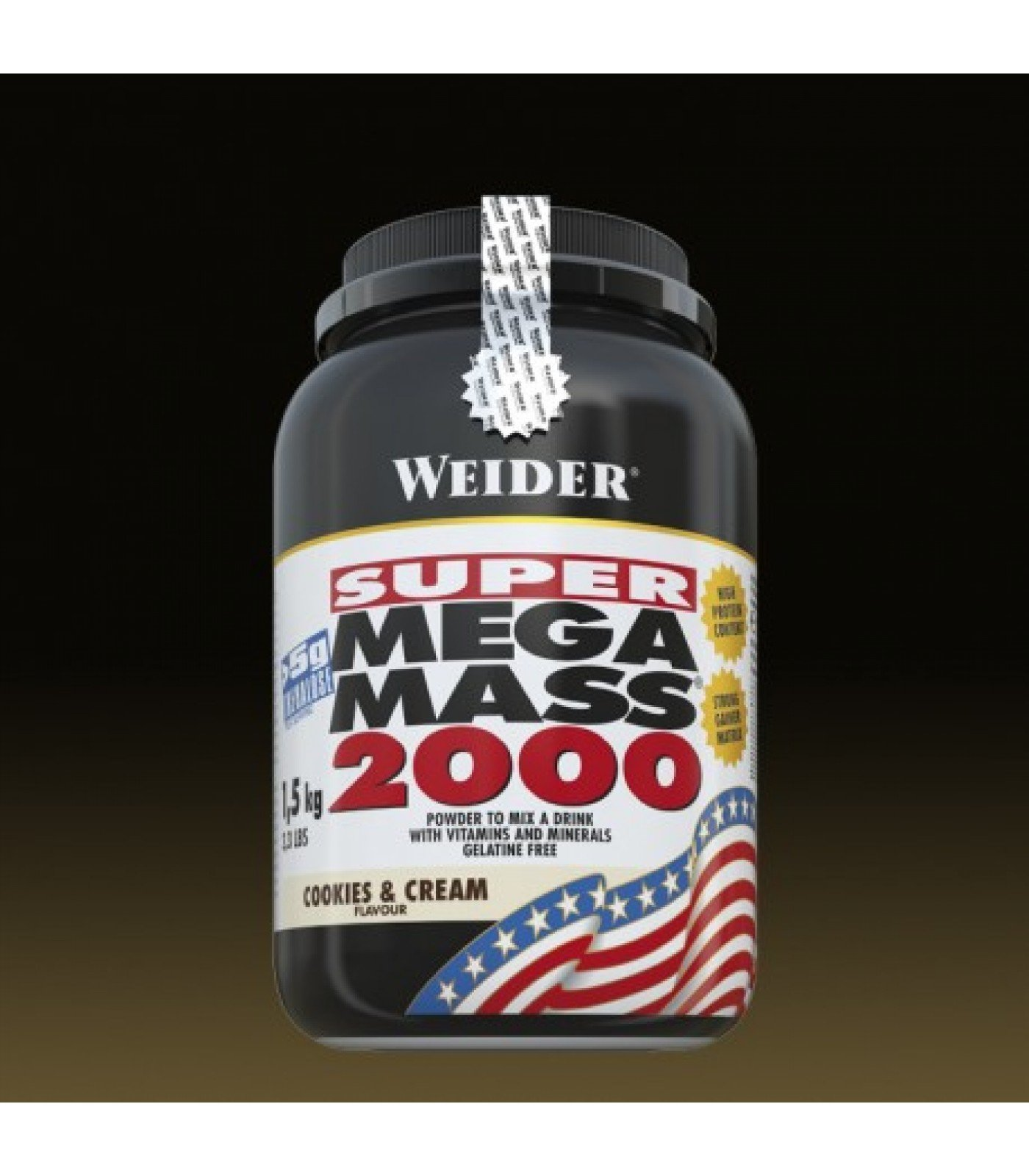 Weider - Super Mega Mass 2000 / 1500 gr