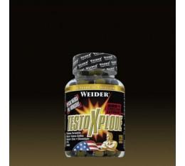 Weider - Testo X-Plode / 120 caps Хранителни добавки, Стимулатори за мъже, Трибулус-Терестрис