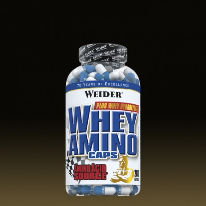 Weider - Whey Aminos / 280 caps