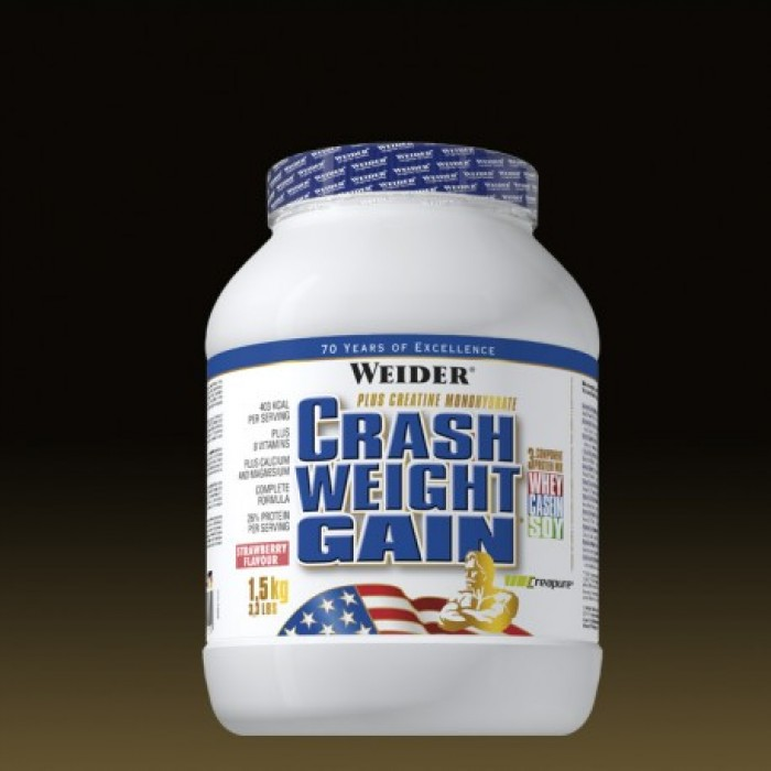 Weider - Crashweight Gain / 1500 gr