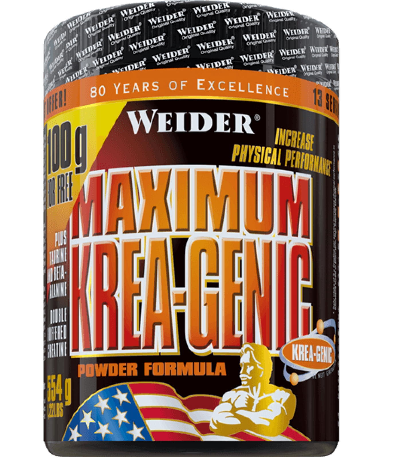 Weider - Maximum Krea-Genic Powder / 454 gr