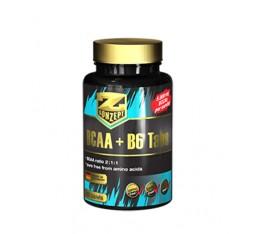 Z Konzept - BCAA + B6 / 120 tabs. Хранителни добавки, Аминокиселини, Разклонена верига (BCAA)