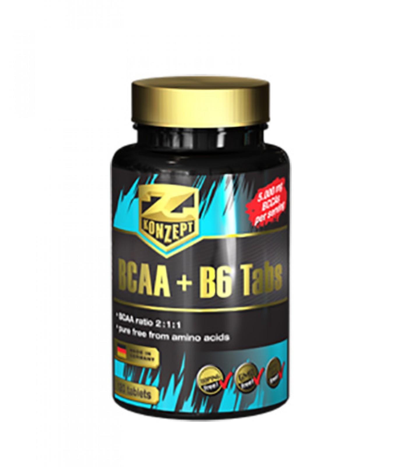 Z Konzept - BCAA + B6 / 120 tabs.