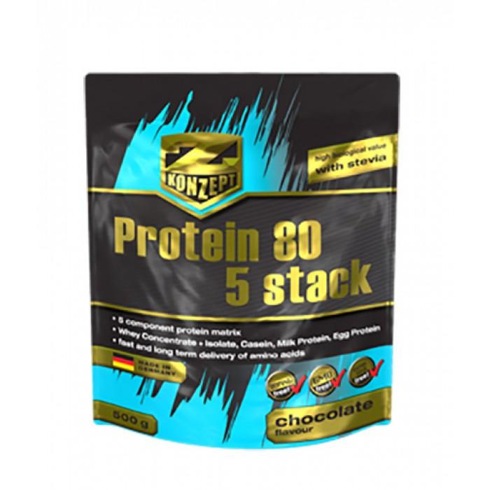 Z Konzept - Protein 80 5 stack / 500 gr.