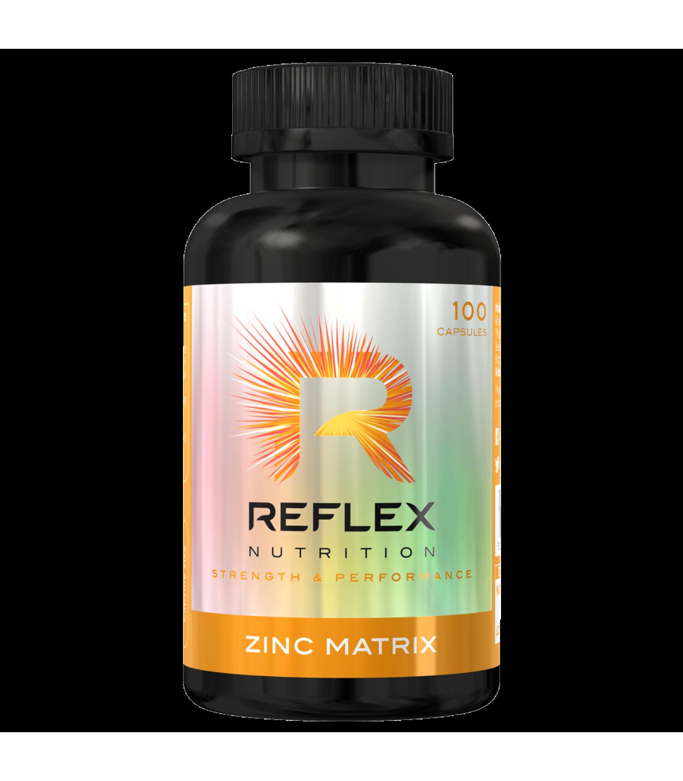 Reflex - Zinc Matrix  / 100 caps