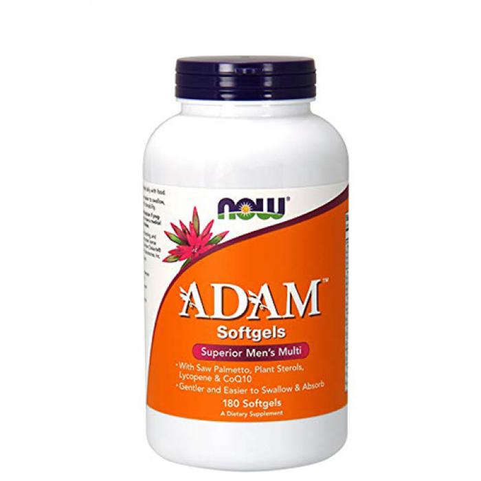 NOW - ADAM™ Superior Mens Multiple Vitamin / 180 gels.