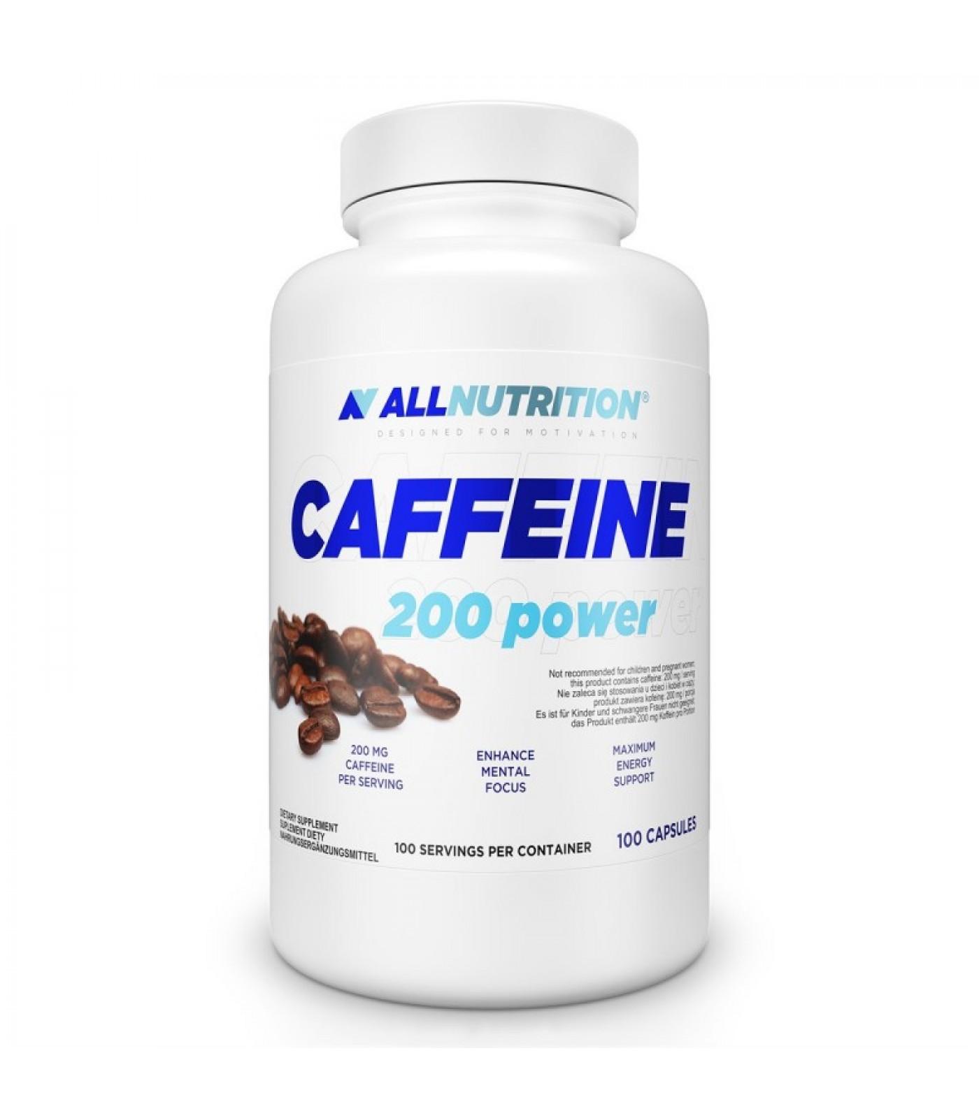 Allnutrition Caffeine 200 Power / 100 caps