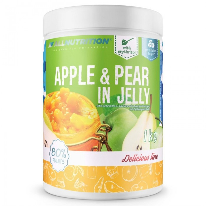 Allnutrition Jelly - Apple & Pear - Конфитюр / 1000g