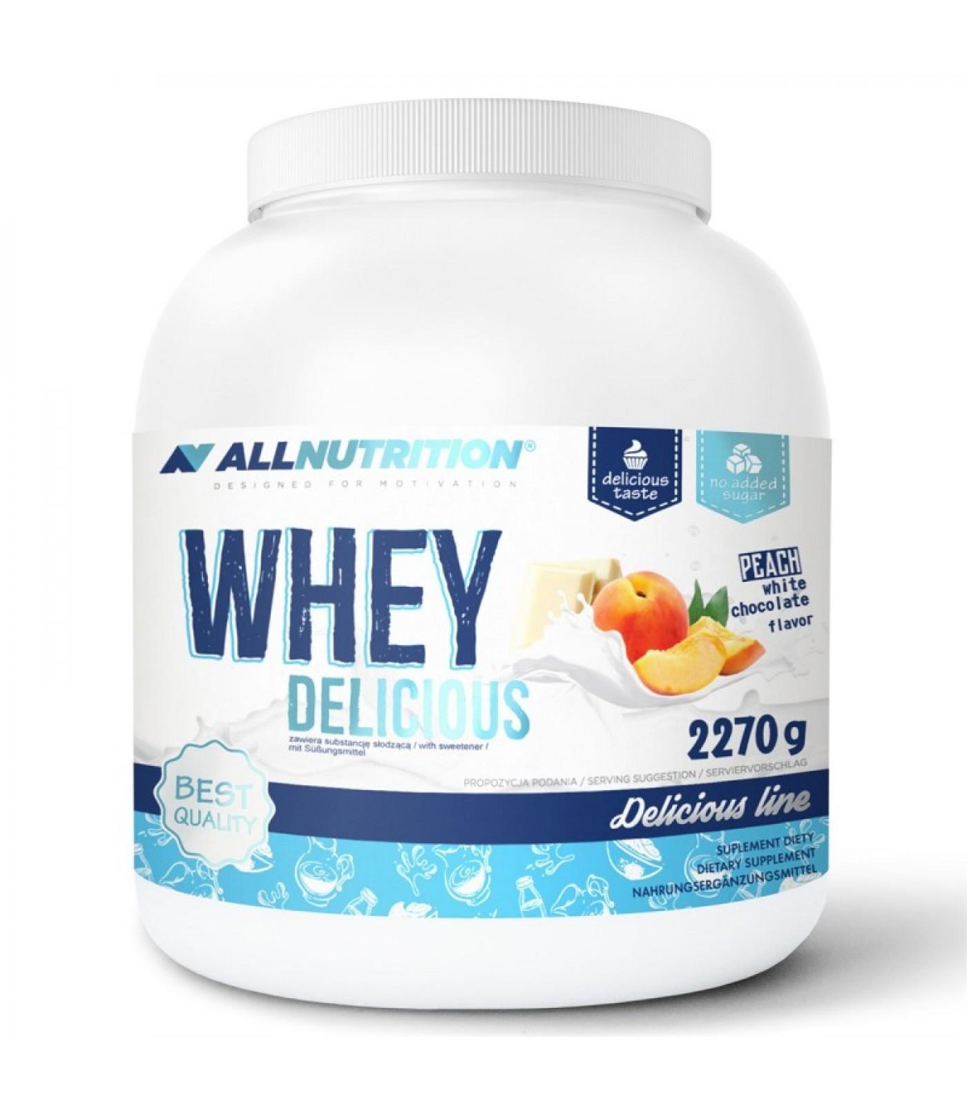 Allnutrition Whey Delicious / 2270 gr
