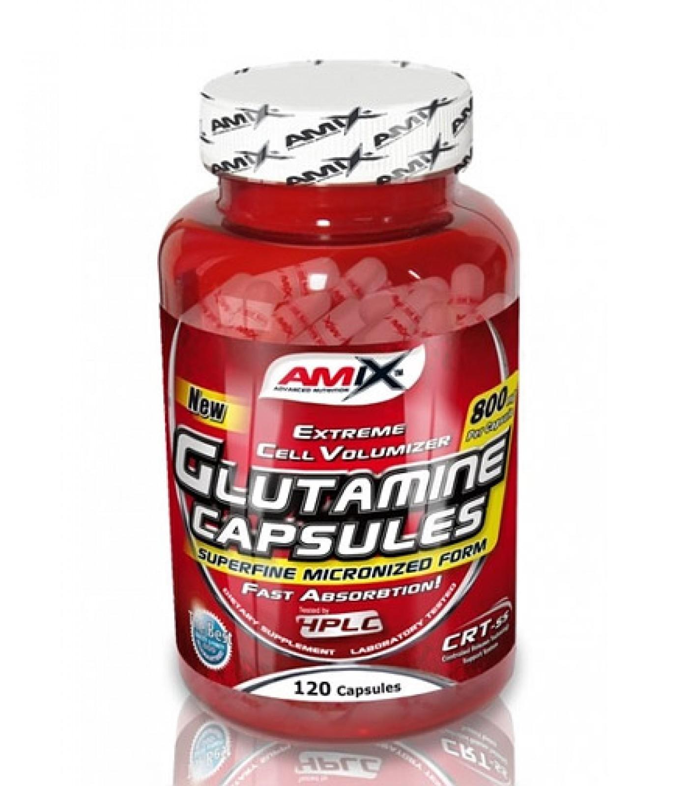 Amix - L-Glutamine / 120tabs. x 800mg.