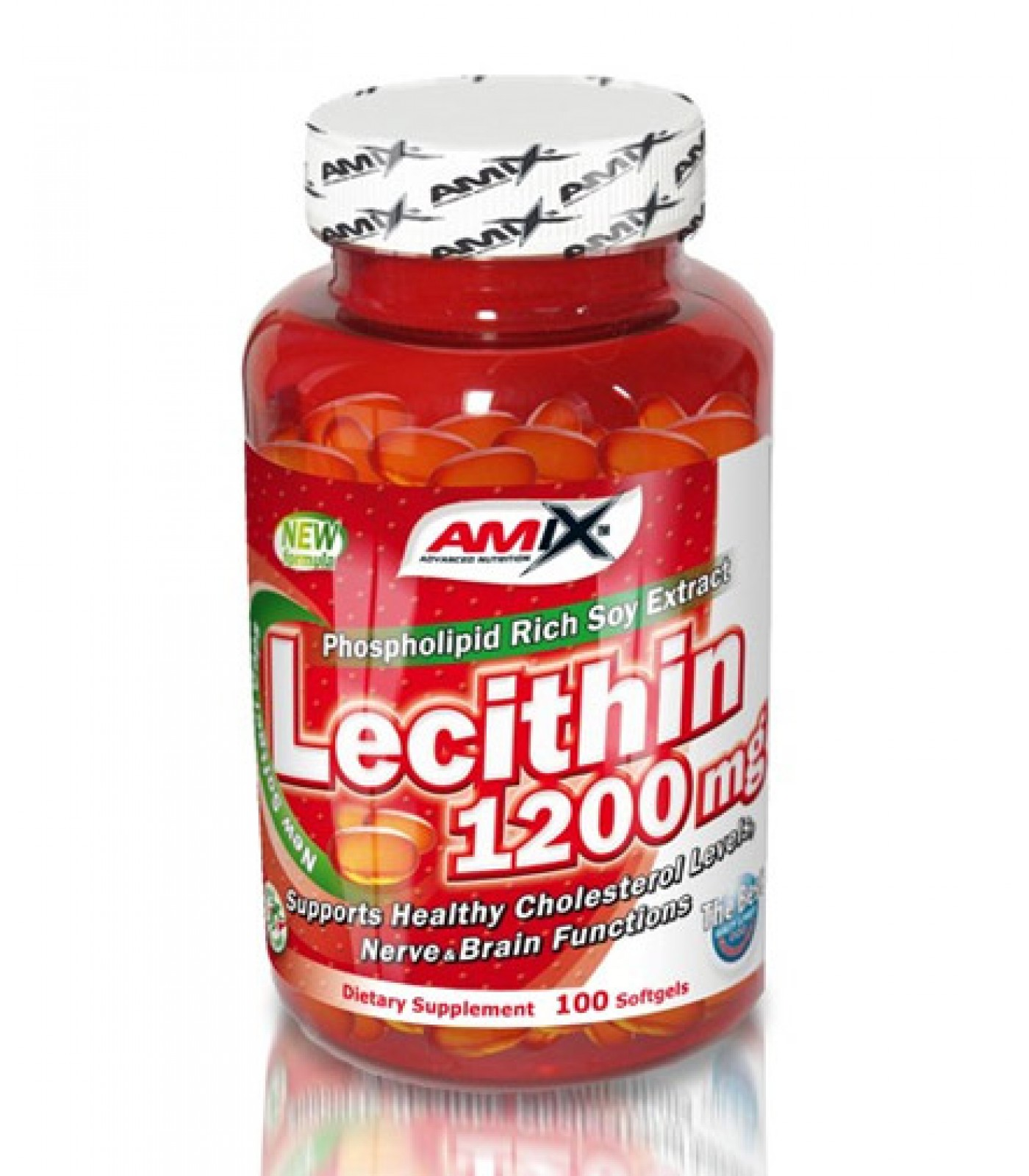 Amix - Lecithin / 100caps x 1200mg.