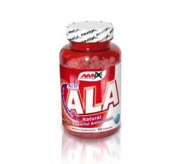 Amix - ALA (Alpha Lipoic Acid) / 60caps. Хранителни добавки, Антиоксиданти, Алфа-Липоева киселина