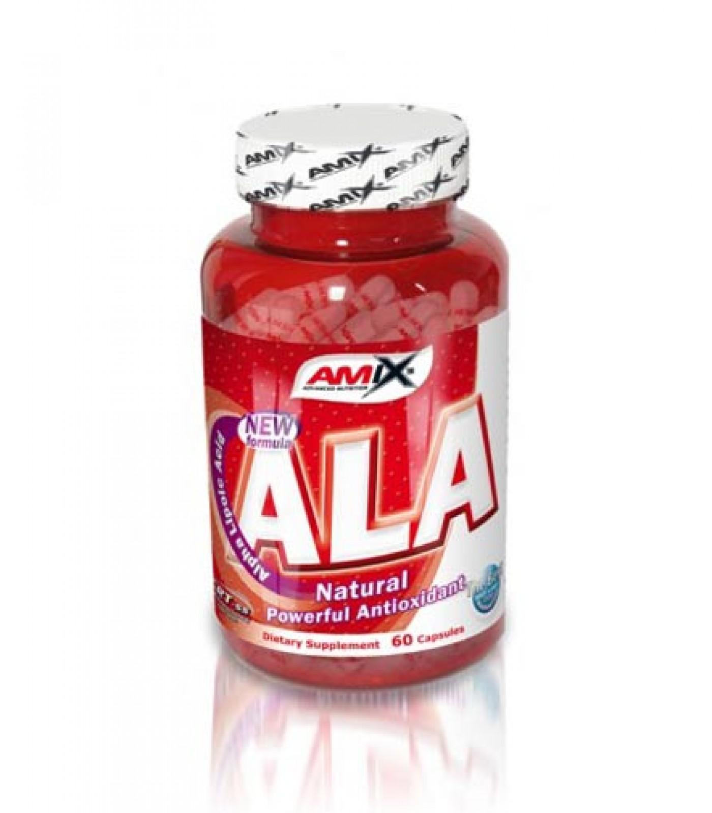 Amix - ALA (Alpha Lipoic Acid) / 60caps.