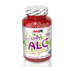 Amix - ALC with Taurin & Vitamine B6 / 120caps. Хранителни добавки, Отслабване, Л-Карнитин