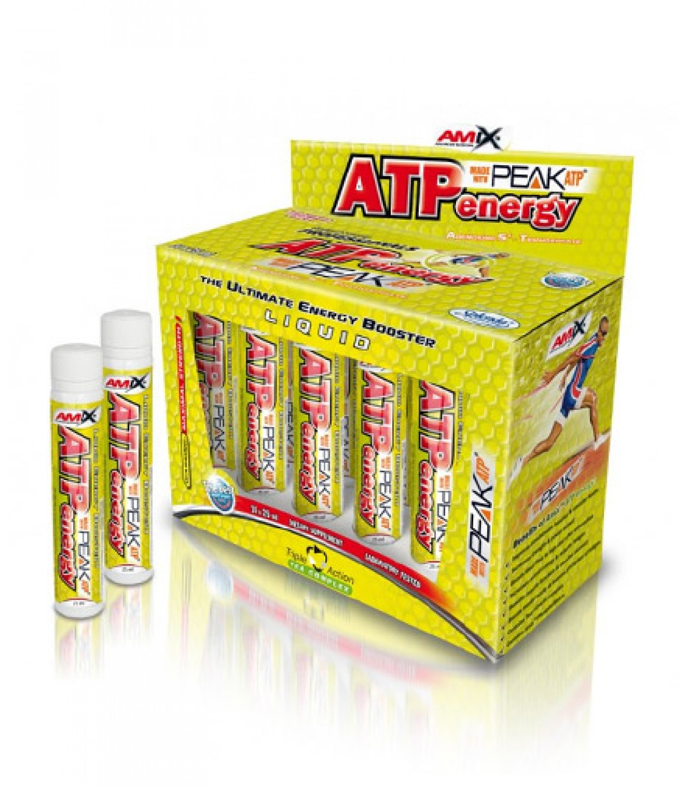 Amix - ATP Energy Liquid / 10amp. x 25ml.