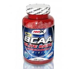 Amix - BCAA Elite Rate / 120caps. Хранителни добавки, Аминокиселини, Разклонена верига (BCAA)