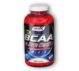 Amix - BCAA Elite Rate / 220caps. Хранителни добавки, Аминокиселини, Разклонена верига (BCAA)