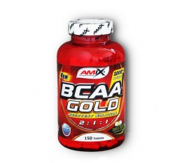 Amix - BCAA Gold / 150tabs. Хранителни добавки, Аминокиселини, Разклонена верига (BCAA)