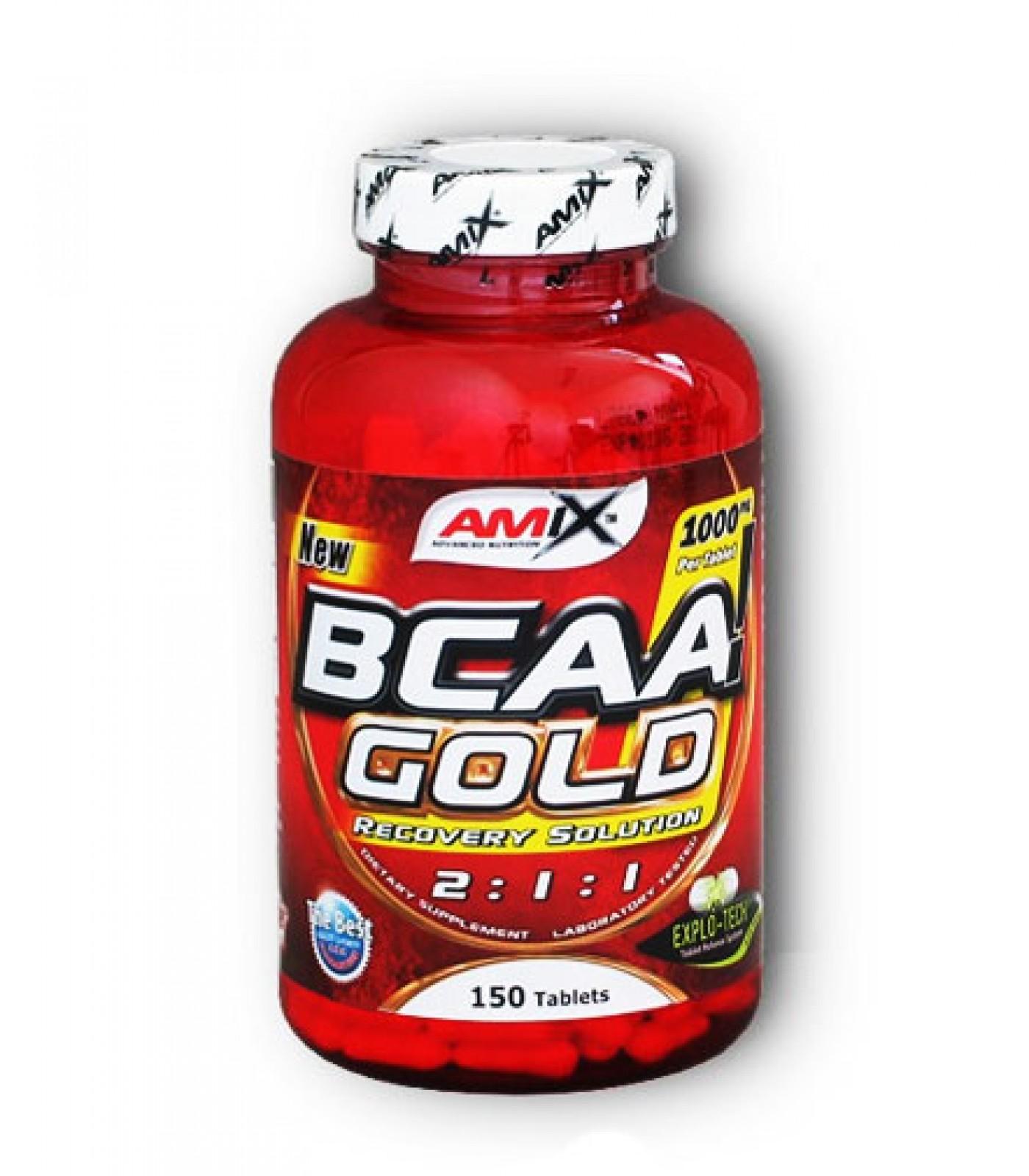 Amix - BCAA Gold / 150tabs.