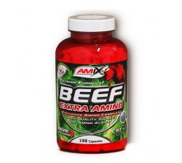 Amix - Beef Extra Amino / 198 caps. Хранителни добавки, Аминокиселини, Телешки аминокиселини