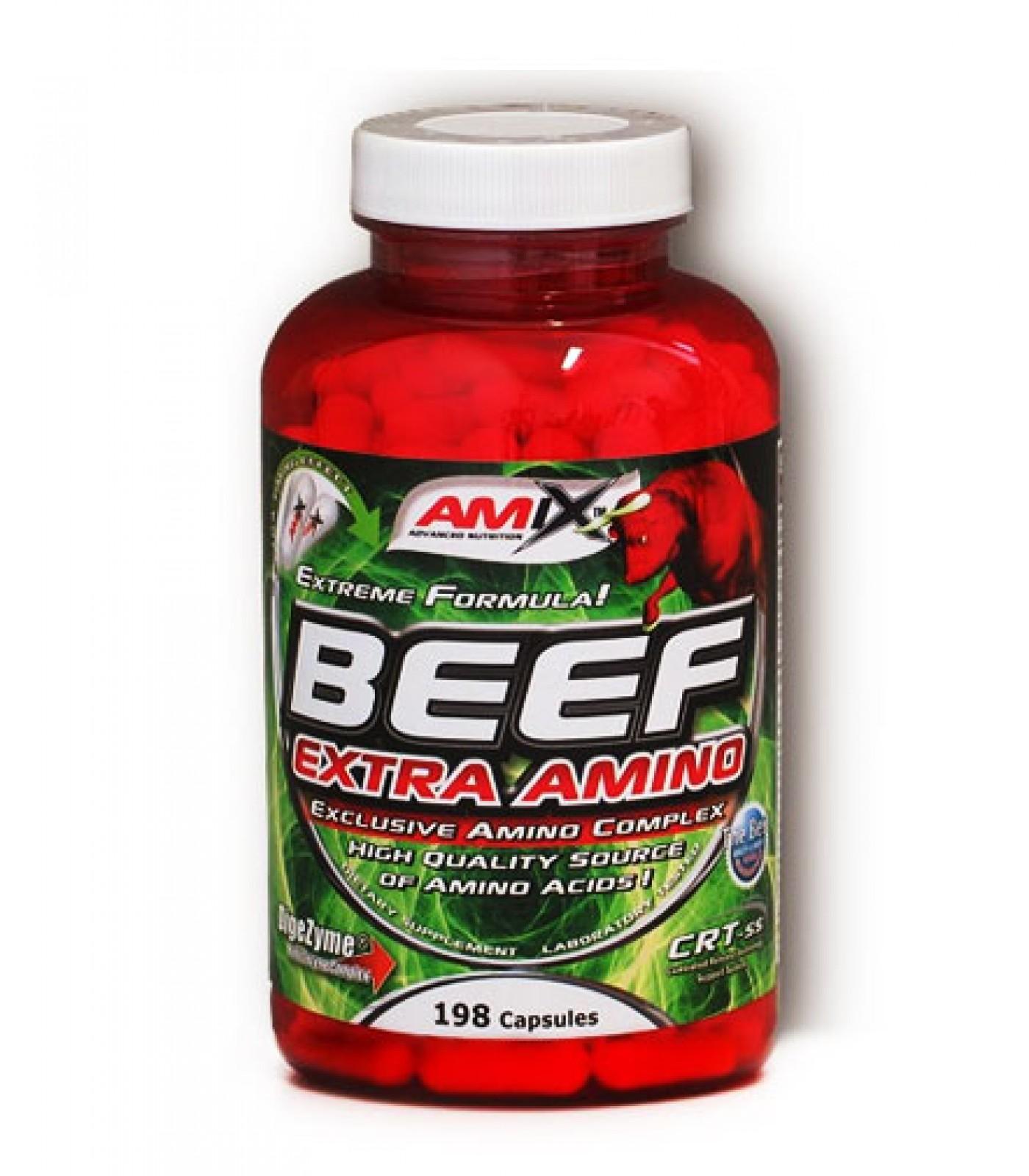 Amix - Beef Extra Amino / 198 caps.