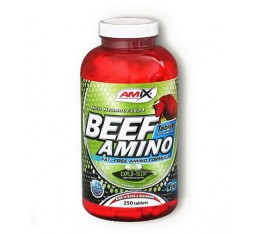 Amix - Beef Amino / 250tabs. Хранителни добавки, Аминокиселини, Телешки аминокиселини