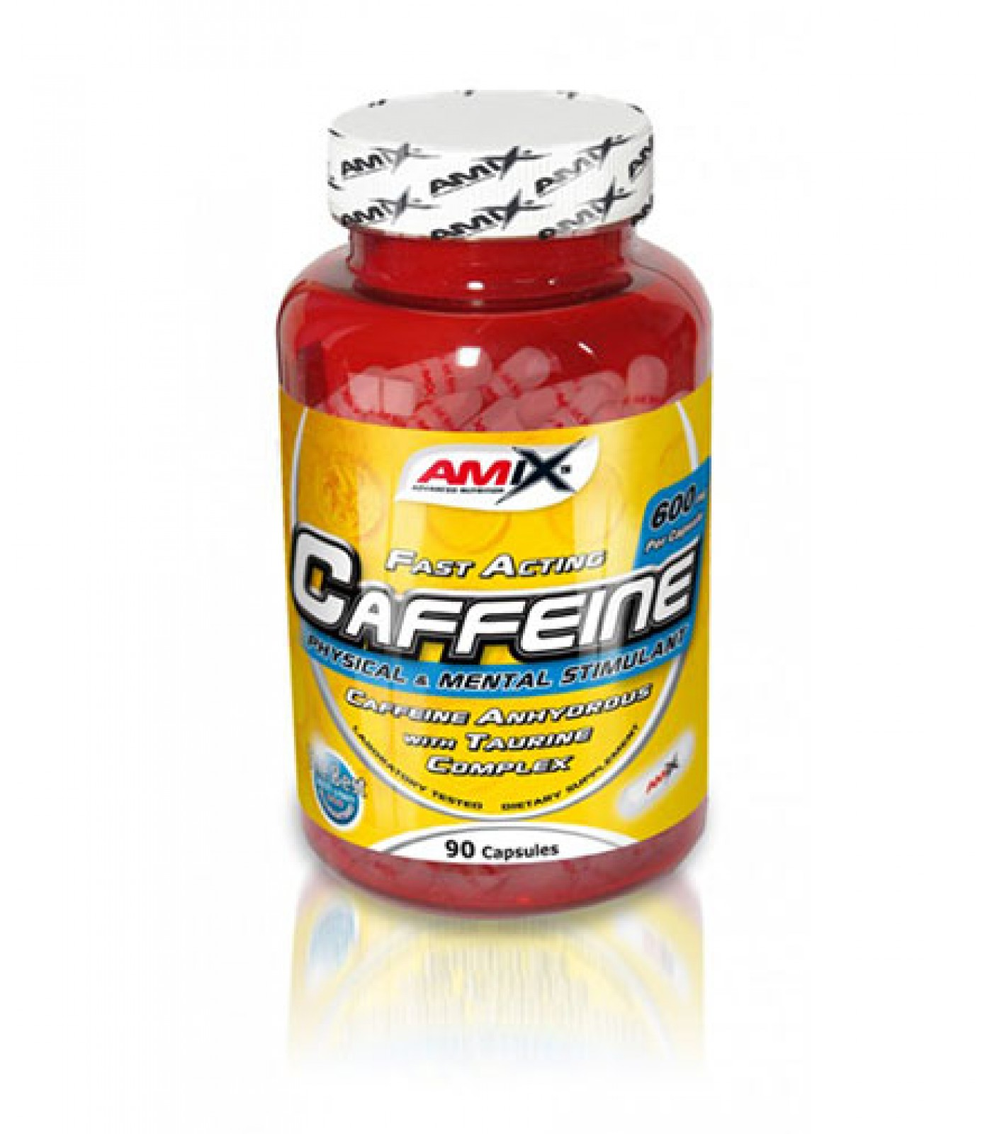 Amix - Caffeine with Taurine / 90caps.