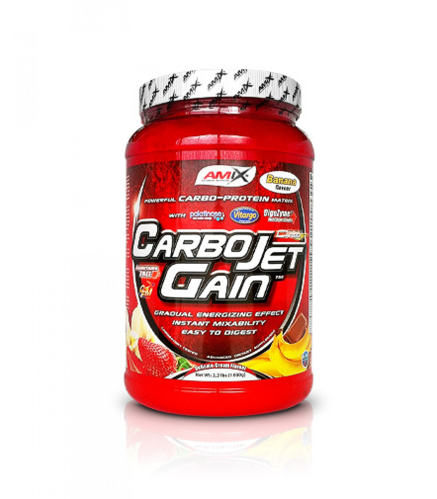 Amix - CarboJet ™ Gain / 1000gr.