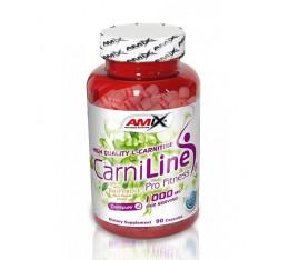 Amix - CarniLine / 90caps. Хранителни добавки, Отслабване, Л-Карнитин